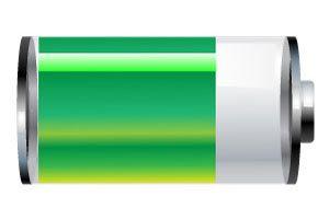 baterie smartphone